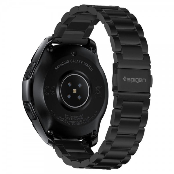 Curea Ceas Spigen Moder Fit Stainless Compatibila Cu Samsung Galaxy Watch 42mm , Negru imagine itelmobile.ro 2021