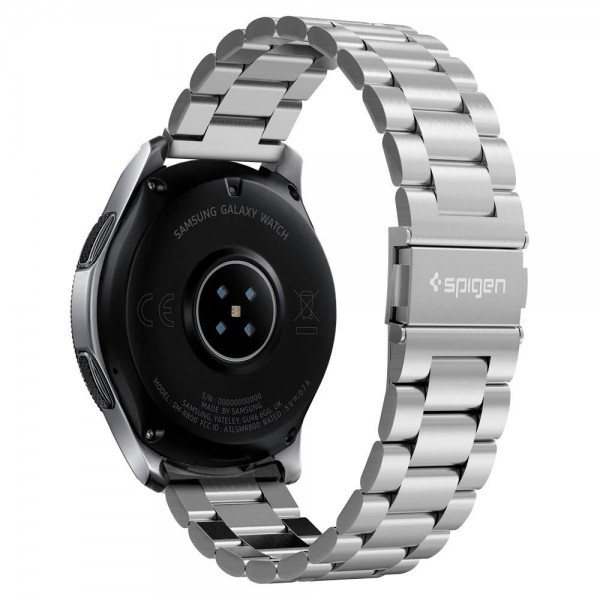 Curea Ceas Spigen Modern Fit Stainless Compatibila Cu Samsung Galaxy Watch 46mm , Silver imagine itelmobile.ro 2021