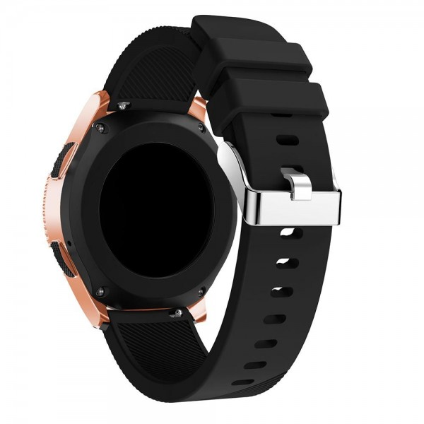 Curea Ceas Upzz Tech Smoothband Compatibila Cu Samsung Galaxy Watch 42mm , Silicon ,negru imagine itelmobile.ro 2021
