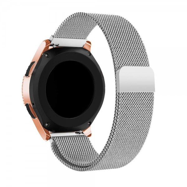 Curea Ceas Upzz Tech Milaneseband Compatibila Cu Samsung Galaxy Watch 42mm ,silver imagine itelmobile.ro 2021