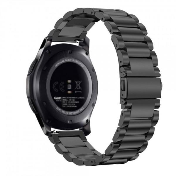 Curea Ceas Upzz Tech Stainless Compatibila Cu Samsung Gear S3 ,negru imagine itelmobile.ro 2021