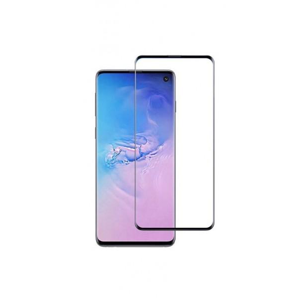 Folie Full Cover Nano Glass Flexible Bestsuit Samsung Galaxy S10+ Plus ,transparenta Cu Margine Neagra -merge Amprenta imagine itelmobile.ro 2021