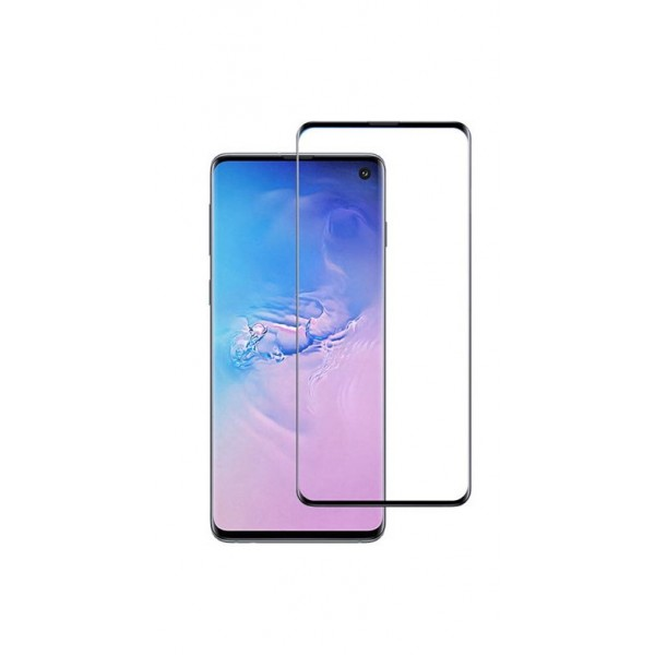 Folie Full Cover Nano Glass Flexible Bestsuit Samsung Galaxy S10 ,transparenta Cu Margine Neagra -merge Amprenta imagine itelmobile.ro 2021