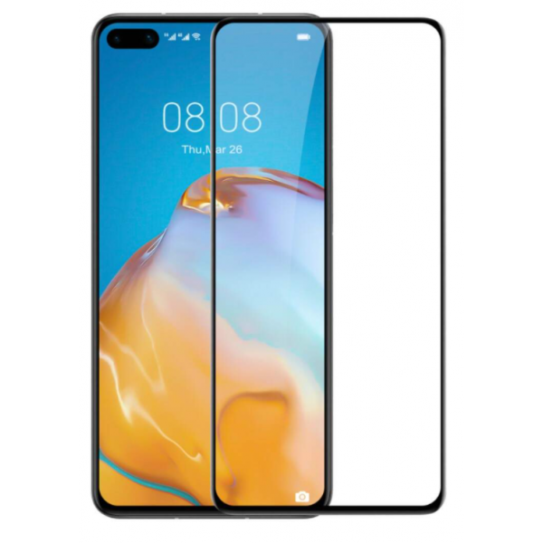 Folie Full Cover Nano Glass Flexible Bestsuit Huawei P40 Pro ,transparenta Cu Margine Neagra -merge Amprenta imagine itelmobile.ro 2021