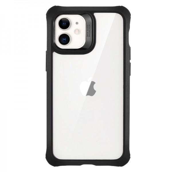 Husa Premium Esr Alliance 360 Compatibila Cu iPhone 12 Mini ,negru ,cu 2 Folii Sticla Incluse imagine itelmobile.ro 2021
