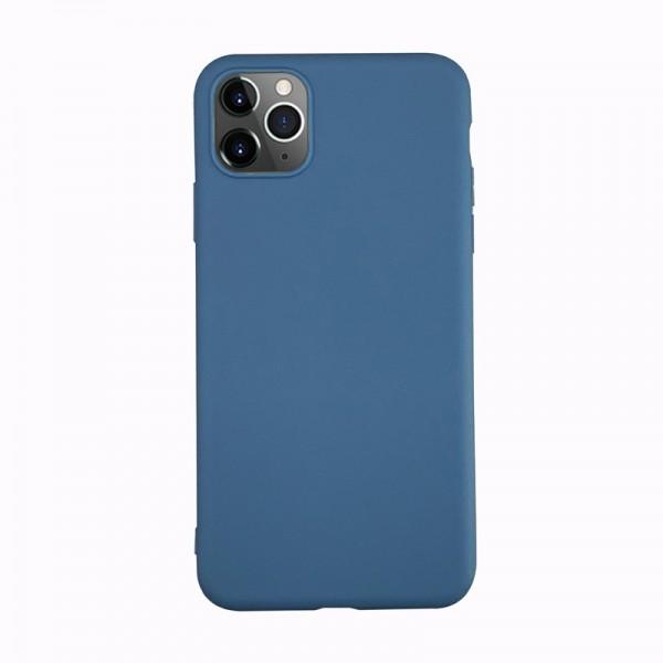 Husa Ultra Slim Upzz Slim Soft Pentru iPhone 12 / iPhone 12 Pro ,1mm Grosime , Navy Blue imagine itelmobile.ro 2021