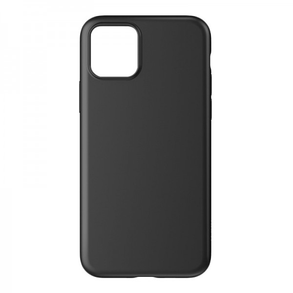 Husa Ultra Slim Upzz Slim Soft Pentru iPhone 12 / iPhone 12 Pro ,1mm Grosime , Negru imagine itelmobile.ro 2021