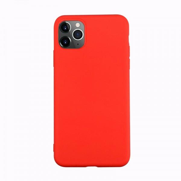 Husa Ultra Slim Upzz Slim Soft Pentru iPhone 12 / iPhone 12 Pro ,1mm Grosime , Rosu imagine itelmobile.ro 2021
