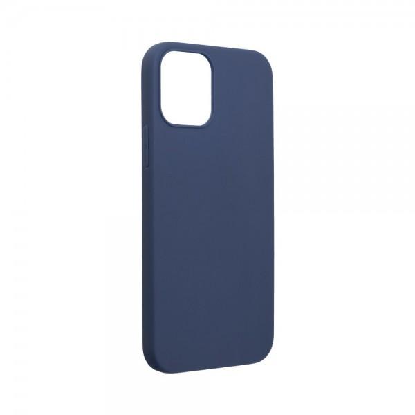 Husa Ultra Slim Upzz Slim Soft Pentru iPhone 12 Mini ,1mm Grosime , Navy Blue imagine itelmobile.ro 2021