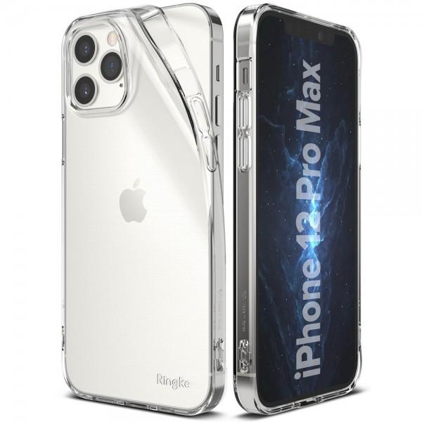 Husa Premium Ringke Air iPhone 12 Pro Max ,silicon ,slim ,transparenta imagine itelmobile.ro 2021