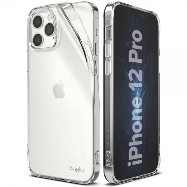Husa Premium Ringke Air iPhone 12 / iPhone 12 Pro ,silicon ,slim ,transparenta imagine itelmobile.ro 2021
