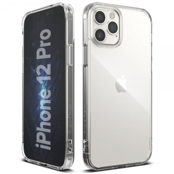 Husa Premium Ringke Fusion X Compatibila Cu iPhone 12 / iPhone 12 Pro ,transparenta imagine itelmobile.ro 2021