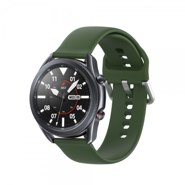 Curea Ceas Upzz Tech Iconband Compatibila Cu Samsung Galaxy Watch 3, 45mm , Verde Army imagine itelmobile.ro 2021
