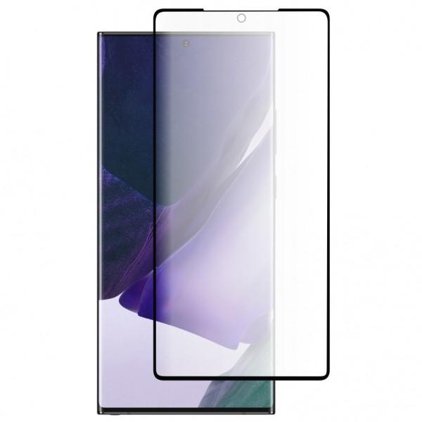Folie Full Cover Nano Glass Flexible Bestsuit Samsung Galaxy Note 20 ,transparenta Cu Margine Neagra -merge Amprenta imagine itelmobile.ro 2021