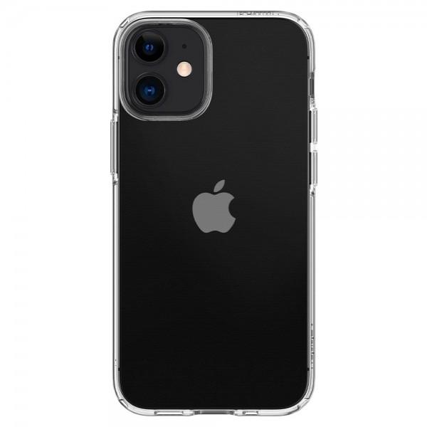 Husa Premium Spigen Liquid Crystal iPhone 12 Mini ,transparenta - Acs01740 imagine itelmobile.ro 2021