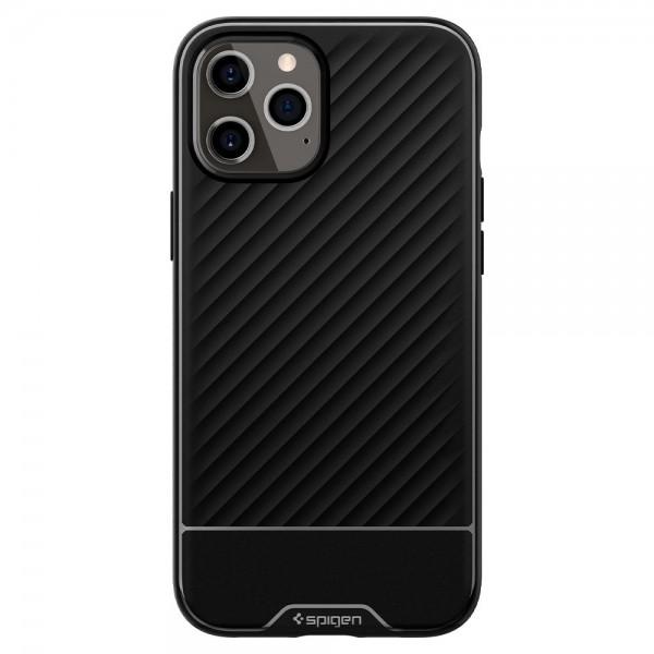 Husa Premium Spigen Core Compatibila Cu iPhone 12 / iPhone 12 Pro ,negru - Acs01515 imagine itelmobile.ro 2021