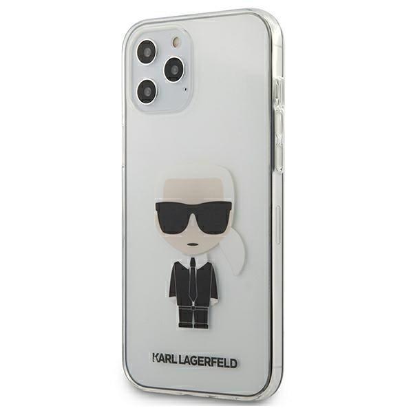 Husa Premium Originala Karl Lagerfeld Compatibila Cu iPhone 12 Pro Max ,colectia Ikonik Karl,silver-klhcp12lpcutriksl imagine itelmobile.ro 2021