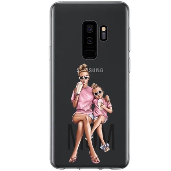 Husa Silicon Soft Upzz Print Samsung Galaxy S9 Plus Model Mom1 imagine itelmobile.ro 2021