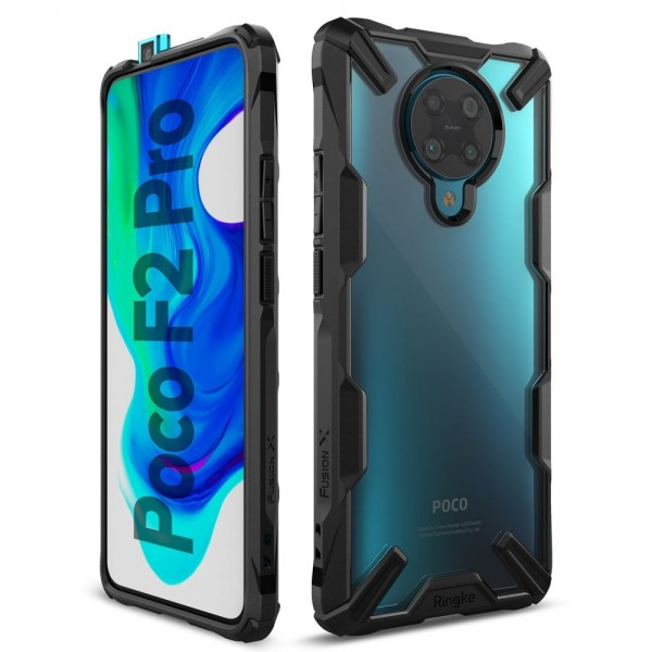 Ringke Fushion X Pentru Xiaomi Poco F2 Pro ,negru imagine itelmobile.ro 2021