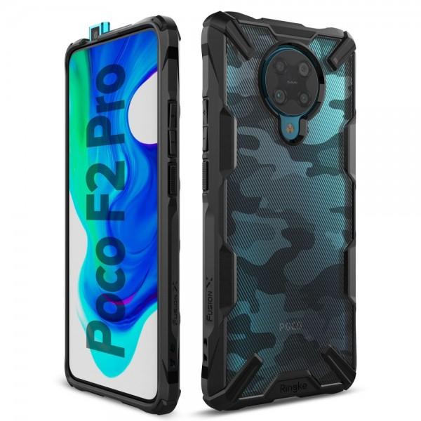 Ringke Fushion X Pentru Xiaomi Poco F2 Pro ,camo imagine itelmobile.ro 2021