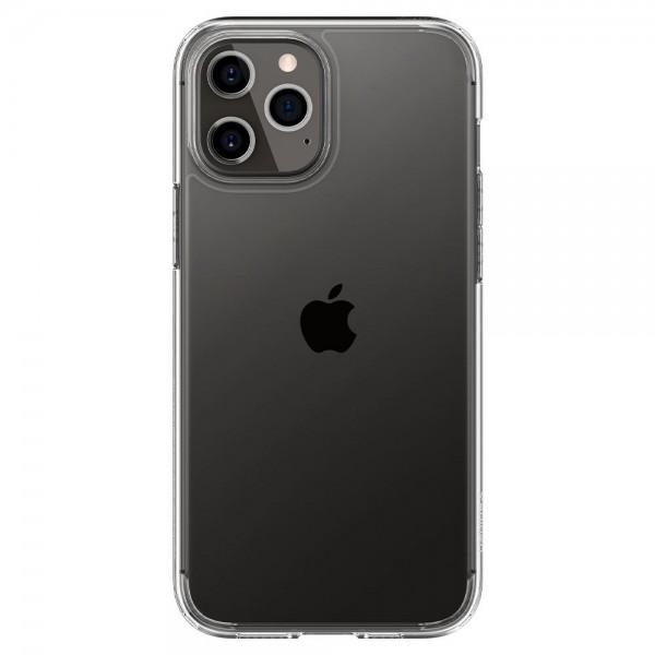 Husa Premium Spigen Ultra Hybrid iPhone 12/ iPhone 12 Pro ,transparent - Acs01702 imagine itelmobile.ro 2021