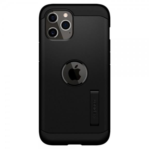 Husa Originala Premium Spigen Tough Armor iPhone 12 / iPhone 12 Pro ,negru - Acs01710 imagine itelmobile.ro 2021