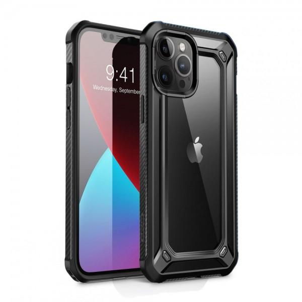 Husa Spate Premium Supcase Exo Pro iPhone 12 / iPhone 12 Pro ,negru imagine itelmobile.ro 2021