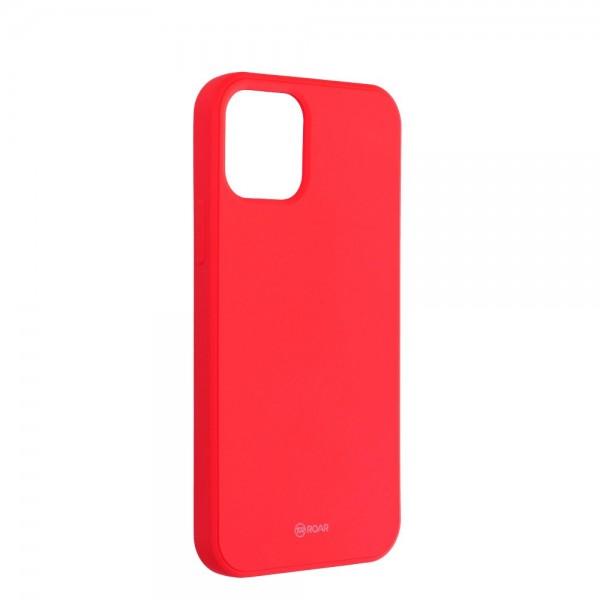 Husa Spate Roar Jelly iPhone 12 / iPhone 12 Pro ,silicon - Roz Piersica imagine itelmobile.ro 2021