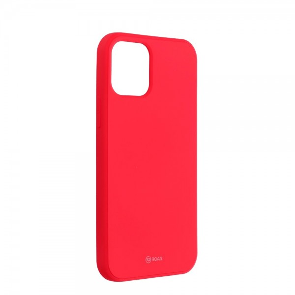 Husa Spate Roar Jelly iPhone 12 Mini ,silicon - Roz Aprins imagine itelmobile.ro 2021