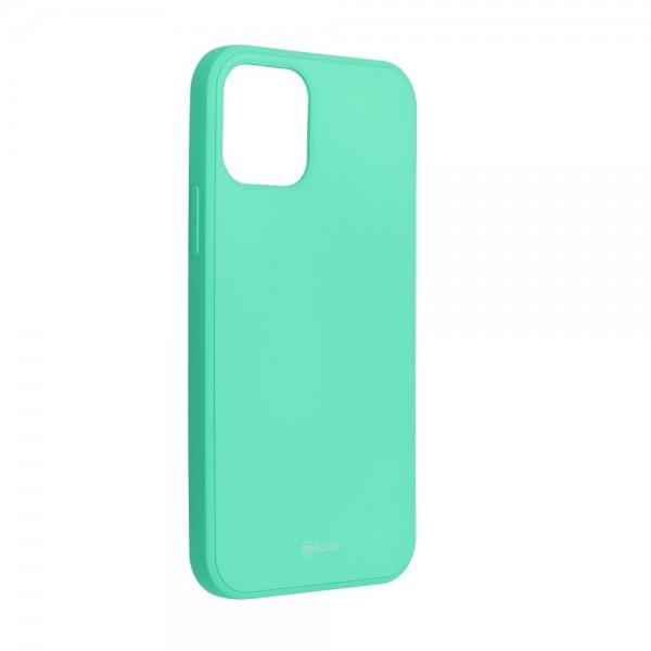 Husa Spate Roar Jelly iPhone 12 Pro Max ,silicon - Verde Menta imagine itelmobile.ro 2021