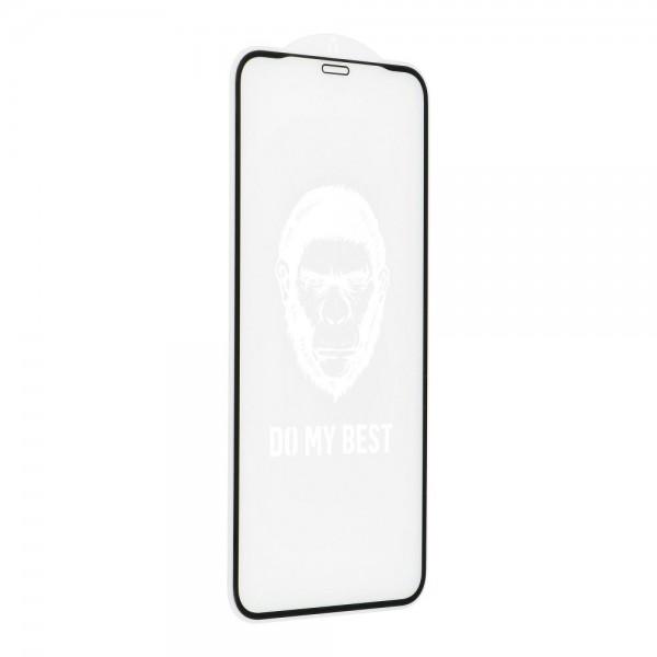 Folie Sticla Securizata Premium 5d Mr. Monkey Strong Hd iPhone 12 / iPhone 12 Pro , Full Cover Negru imagine itelmobile.ro 2021