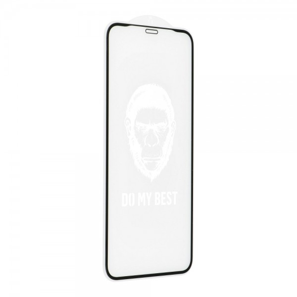 Folie Sticla Securizata Premium 5d Mr. Monkey Strong Hd iPhone 12 Mini , Full Cover Negru imagine itelmobile.ro 2021