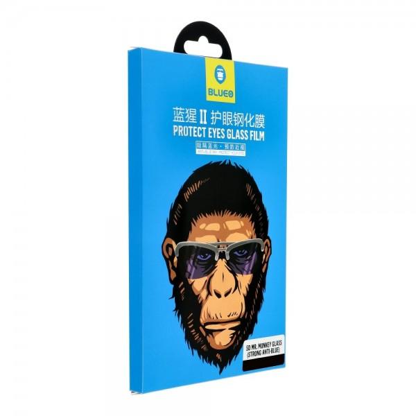 Folie Sticla Securizata Premium 5d Mr. Monkey Strong Hd iPhone 12 Pro Max, Full Cover Negru imagine itelmobile.ro 2021
