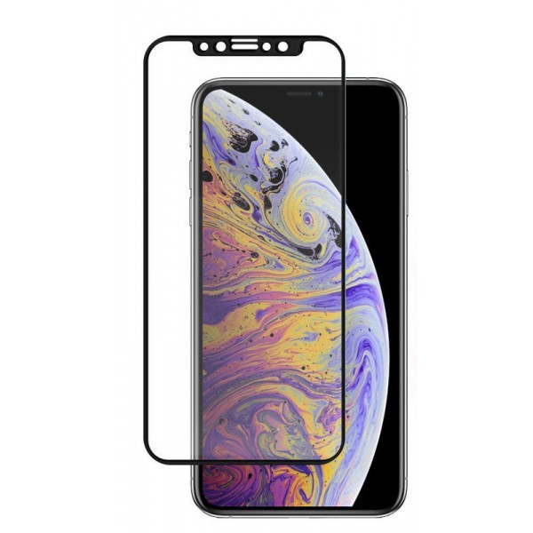 Folie Nano Glass Upzz Flexible Best Compatibila Cu iPhone 12 Mini ,full Cover ,full Glue -transparenta Cu Margine Neagra imagine itelmobile.ro 2021