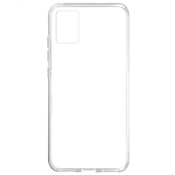 Husa Spate Silicon Ultra Slim Upzz Compatibila Cu Samsung Galaxy A71 5g , Transparenta imagine itelmobile.ro 2021