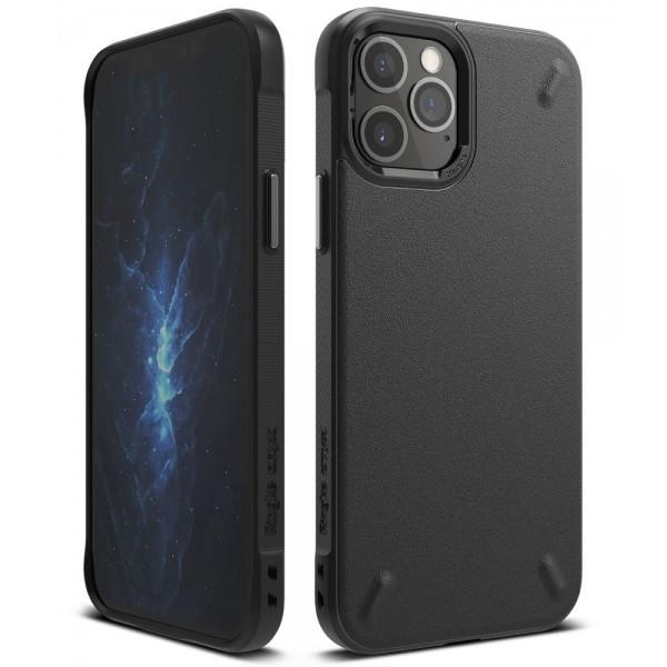 Husa Premium Ringke Onyx Pentru iPhone 12 / iPhone 12 Pro ,silicon , Negru imagine itelmobile.ro 2021
