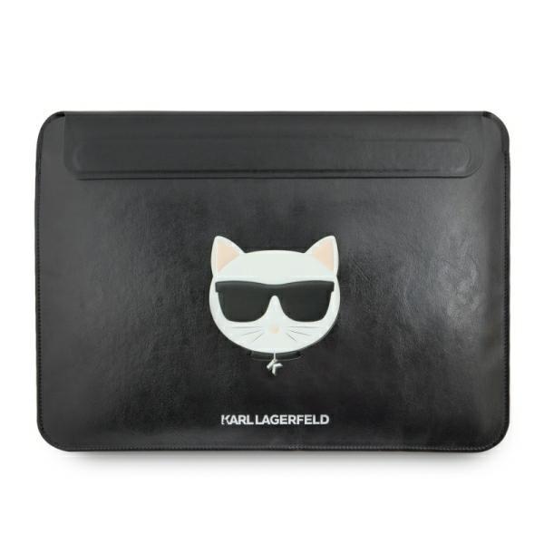 Husa Originala Karl Lagerfeld Compatibila Cu Macbook Pro / Air 13 Inch, Piele ,negru -klcs133chbk imagine itelmobile.ro 2021