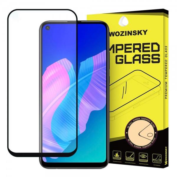 Folie Sticla 5d Wozinsky Tough Screen Full Glue Pentru Huawei P40 Lite E ,transparenta Cu Margini Negre imagine itelmobile.ro 2021