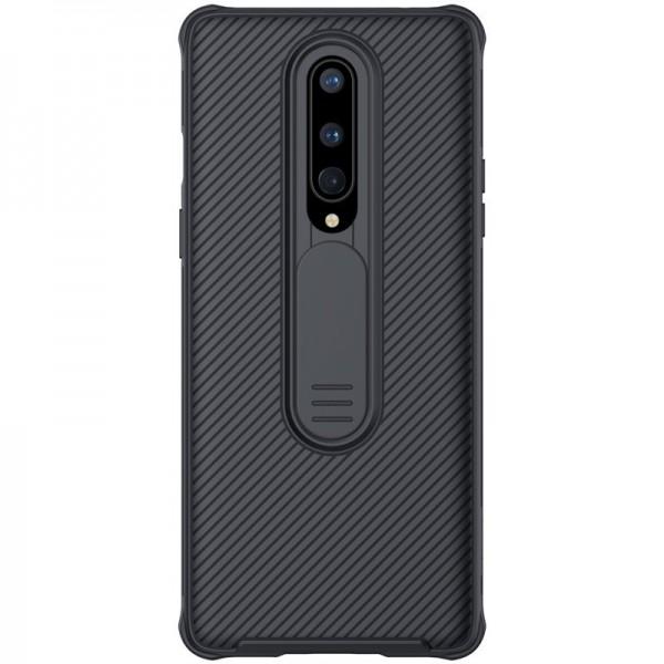 Husa Premium Nillkin Cam Shield Pentru Oneplus 8 ,negru - Protectie La Camera imagine itelmobile.ro 2021