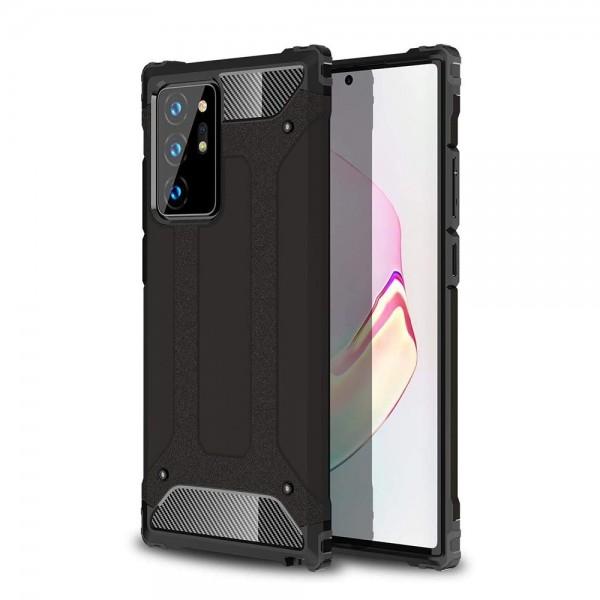 Husa Spate Upzz Hybrid Armor Samsung Galaxy Note 20 ,antishock -negru imagine itelmobile.ro 2021