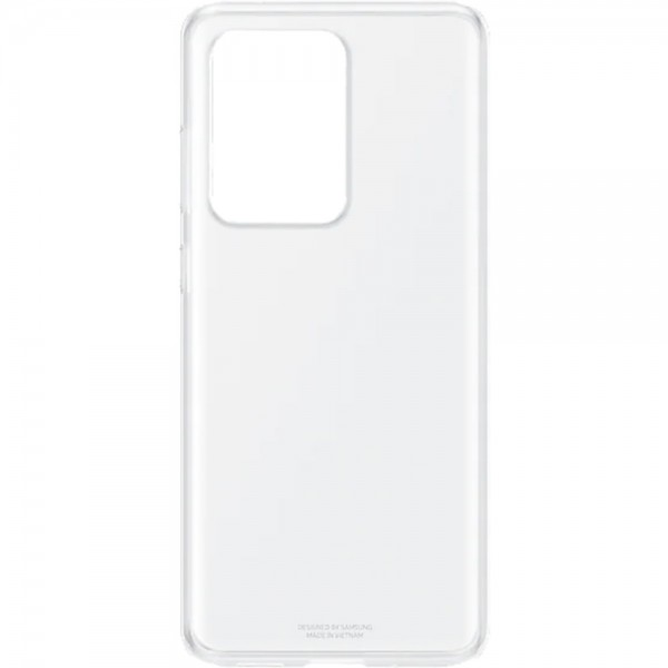 Husa Spate Originala Samsung Compatibila Cu Samsung Galaxy S20 Ultra ,silicon , Transparenta - Ef-qg988ttegeu imagine itelmobile.ro 2021