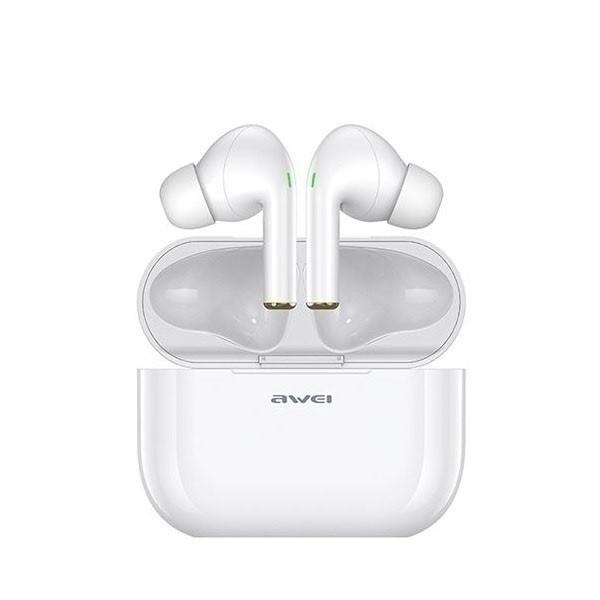 Casti Audio Wireless Awei ,versiune Bluetooth 5.0 ,carcasa Cu Functie De Incarcare ,alb - T29 imagine itelmobile.ro 2021