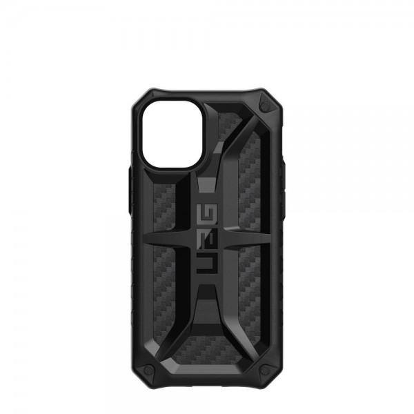 Husa Premium Originala Uag Armor Monarch iPhone 12 Mini ,carbon Fiber imagine itelmobile.ro 2021