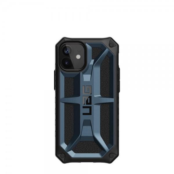 Husa Premium Originala Uag Armor Monarch iPhone 12 Mini , Blue imagine itelmobile.ro 2021