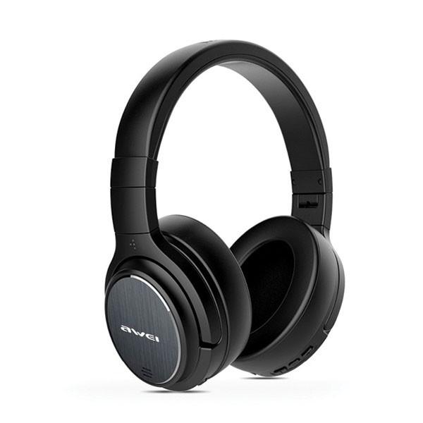 Casti Wireless Bluetooth Music 5.0 Awei Anc ,negru -a950bl imagine itelmobile.ro 2021