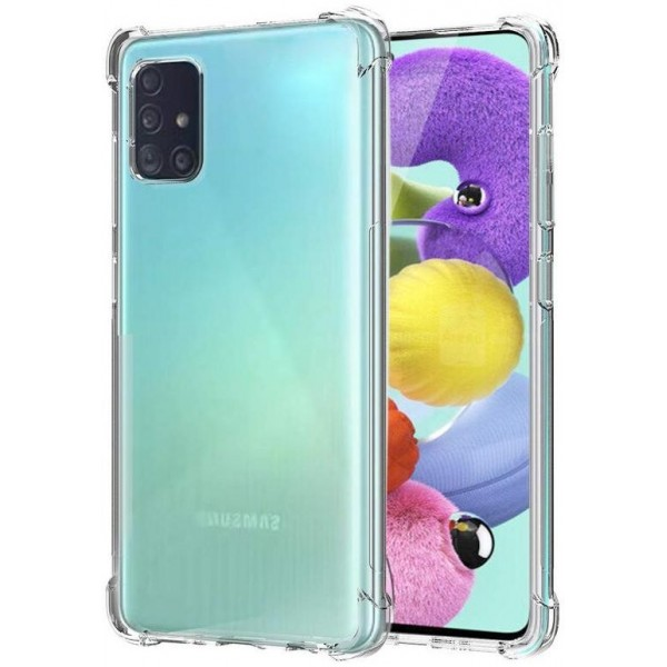 Husa Spate Upzz Roar Bulletproof Pentru Samsung Galaxy M51, Tehnologie Air Cushion La Colturi ,transparenta imagine itelmobile.ro 2021