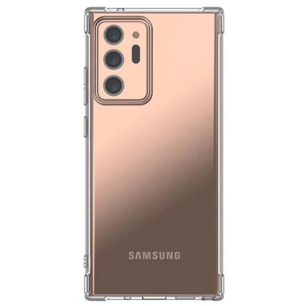 Husa Spate Upzz Mercury Bulletproof Pentru Samsung Galaxy Note 20 ,tehnologie Air Cushion La Colturi ,transparenta imagine itelmobile.ro 2021