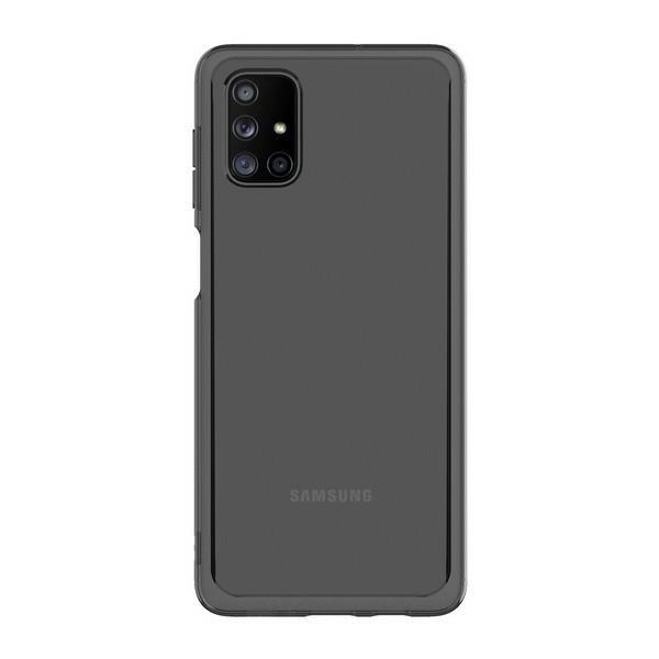 Husa Spate Araree Samsung Pentru Samsung Galaxy M51 ,silicon Antishock Fumuriu imagine itelmobile.ro 2021