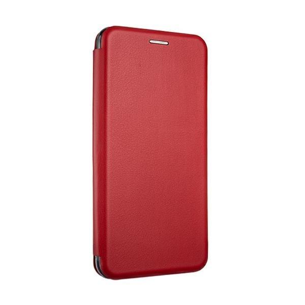 Husa Flip Carte Cu Magnet Lux Upzz Xiaomi Redmi 9c , Rosu imagine itelmobile.ro 2021