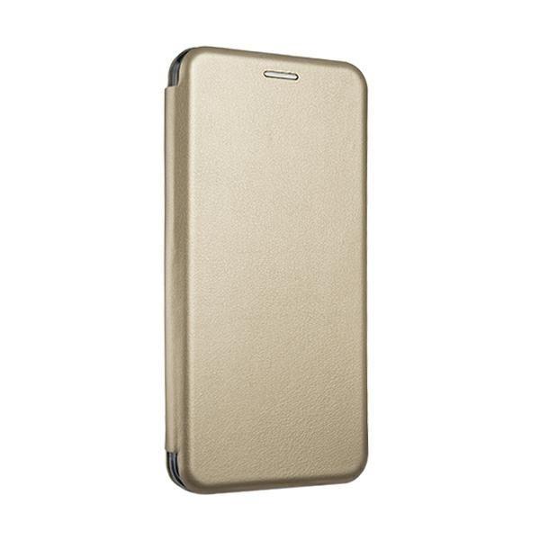 Husa Flip Carte Cu Magnet Lux Upzz Xiaomi Redmi 9c , Gold imagine itelmobile.ro 2021